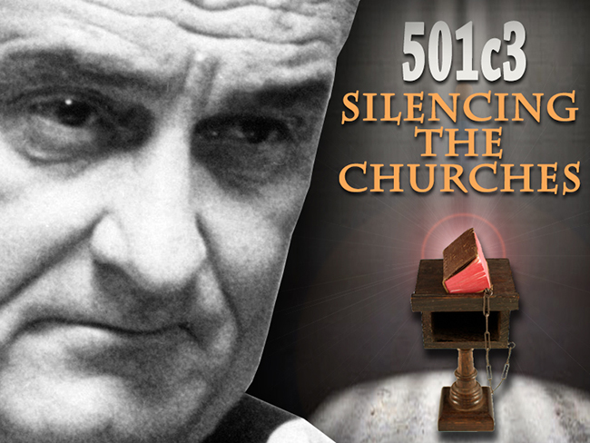 501C3: Silencing the Churches