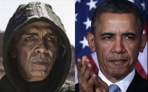 satan and obama