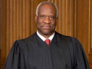 Clarence Thomas was the perfect choice for the Supreme Court because of his strong views on morality and the constitution.