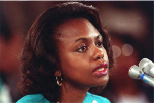 Anita Hill came out of the blue to tarnish a good man with unsubstantiated charges of sexual misconduct.